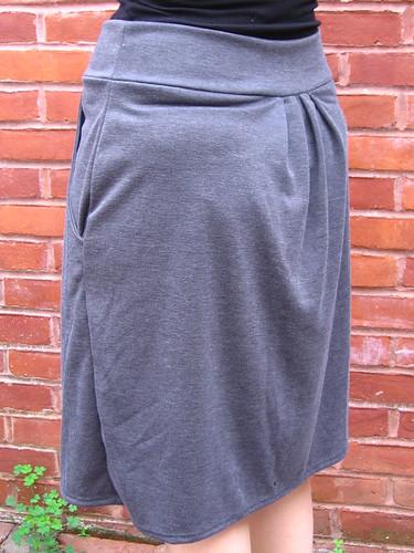 Pleated Skirt Back