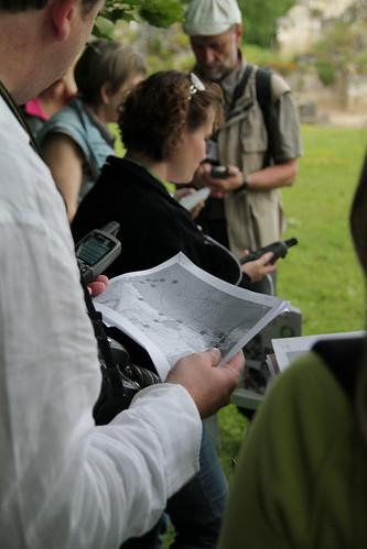 """GPS et """"roadbook"""". L'attirail du bon Géocacheur !"""