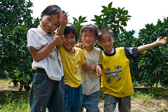 So Many Smiles (stelzer) Tags: china travel smile kids yangshuo guanxi stelzer