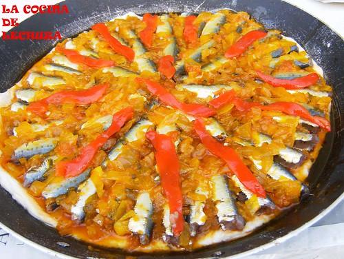 Empanada xoubas pimientos +