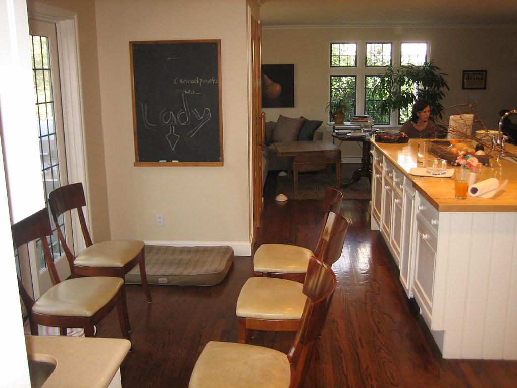 Kitchen rectangular table