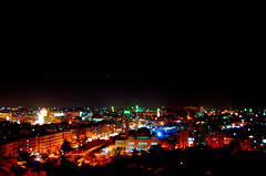 Aleppo at Night, Syria (friend_faraway ...Back Home~) Tags: city light building skyline architecture night syria aleppo nightimage 5photosaday