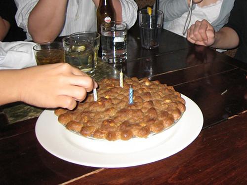 Ben's bday pie