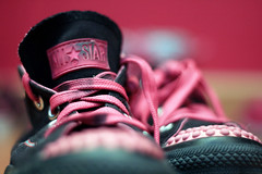 (S) Tags: star all room converse hotpinkblack