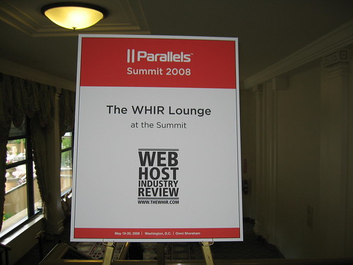 theWHIR Lounge at the Parallels Summit 2008