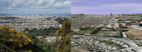 Google Earth vs. Reality - San Francisco