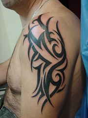 TRIBAL II (cego_tattoo) Tags: flash tribal preto cego blacktribais