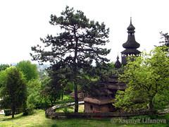 Church in wooden village (K_Liff) Tags: tree church wooden ukraine uzhgorod zakarpattia