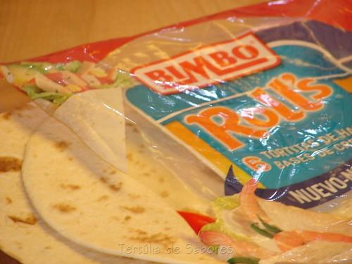 tortilhas da Bimbo