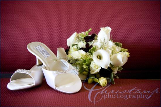 ChristanP Photography - Brides shoes