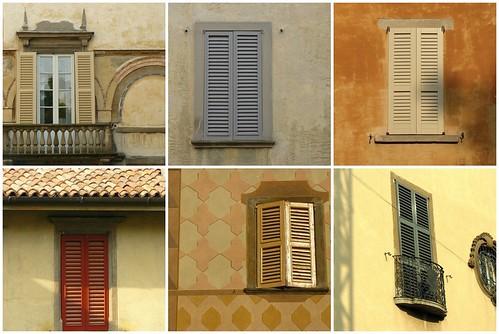 Shutters of Bergamo