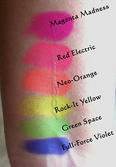 MAC Pro Neon Pigments - Indoor-Lighting From Window