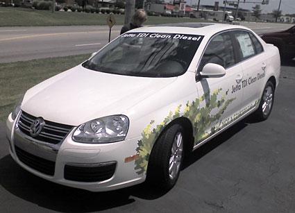 2009 VW Jetta TDI Front