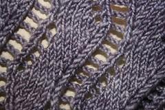 Lace Ribbon Scarf by Veronik Avery (the yarniad) Tags: scarf knitting lace knitty