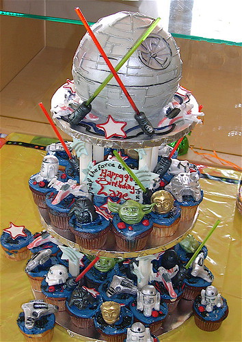 Star Wars cupcakes (Set) · Star Wars Cakes (Group)