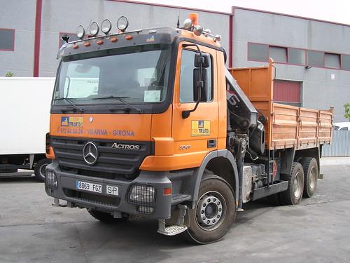 Mercedes Benz de l'empresa TER TRANS de Vilanna