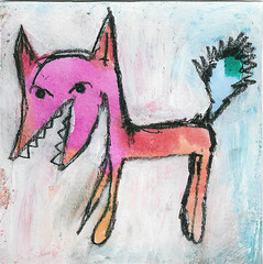 My fox is pink inspired by Reno