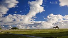 Front Row Seats... (Rex Maximilian) Tags: ocean sky beach grass clouds bench hawaii couple oahu kailua platinumphoto