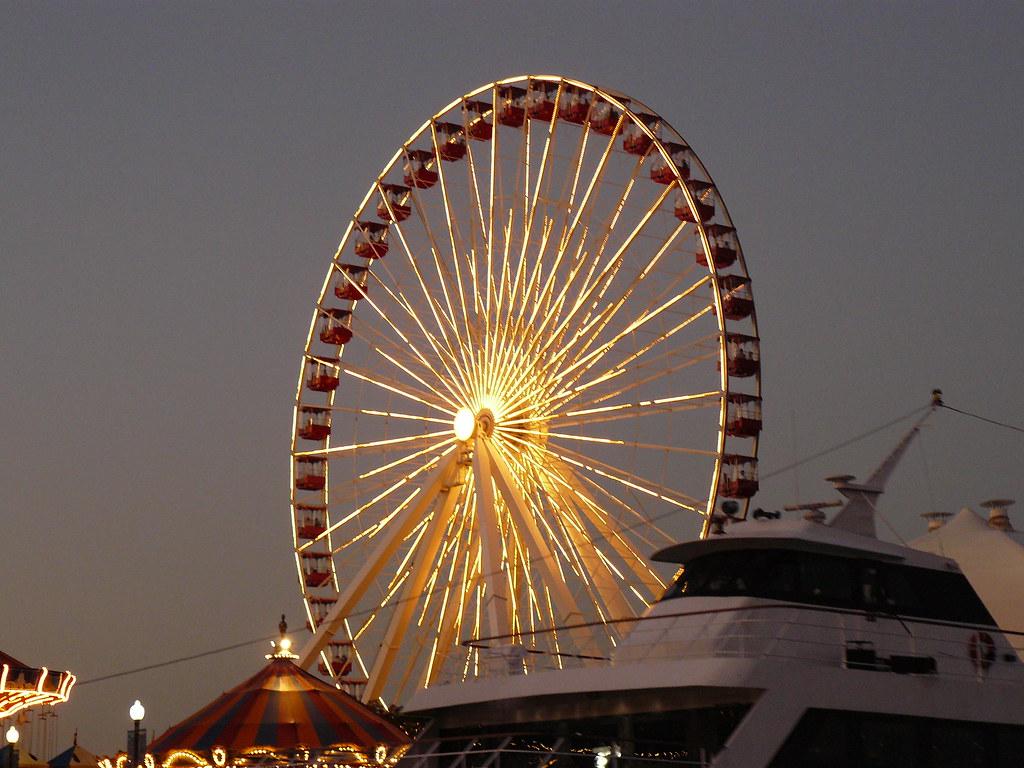 Ferrous Wheel - Navy Pier