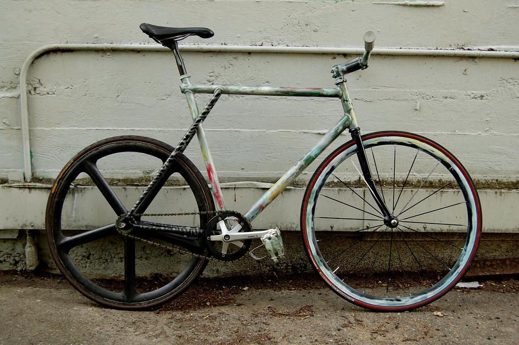 61cm GT GTB Track Bike w/ Aerospoke
