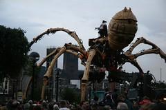 La Machine_05.09.08 (68) (Jon Fairhurst) Tags: liverpool spider albertdock lamachine liverpoolcapitalofculture lapricess