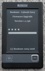 Cybook Gen3 firmware upgrade