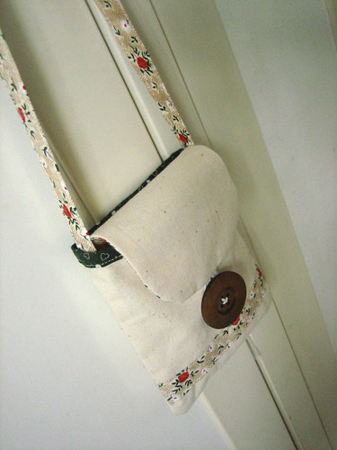 aina's sling bag, done!