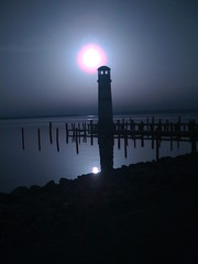 lighthouse (simplyPhotograph) Tags: sun lighthouse dark austria sterreich sonne leuchtturm burgenland iphone podersdorf