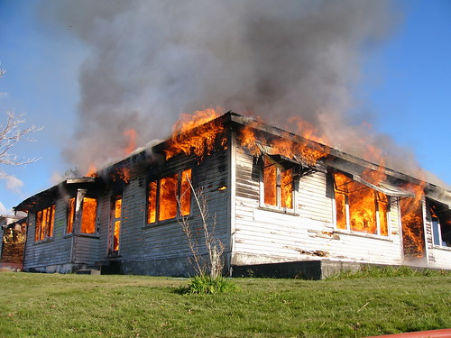 House Fire Training - Te Horo