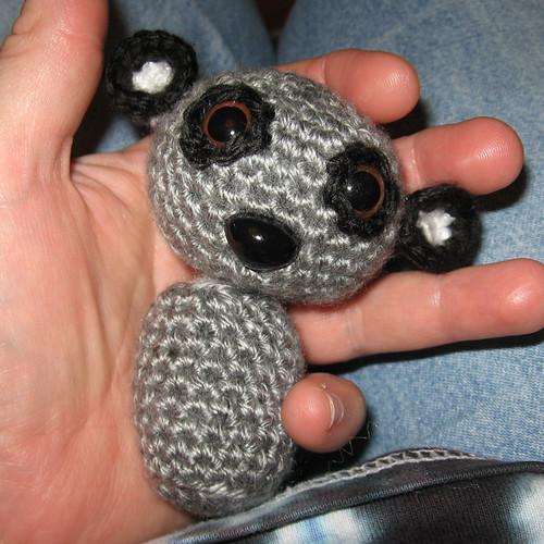 amigurumi lemur beginning