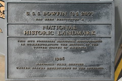 National Historic Landmark (cliff1066) Tags: bridge museum hawaii oahu navy submarine worldwarii pearlharbor missile torpedo harpoon controlroom poseidon usnavy officer wahoo engineroom polaris galley ussmissouri deckgun antiaircraft caliber ballistic navigationsystem parche ussbowfin historiclandmark conningtower wardroom battleflags submarinemuseum quadgun
