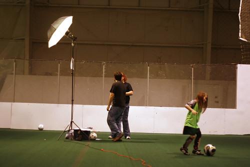 Soccer portraits in Iowa