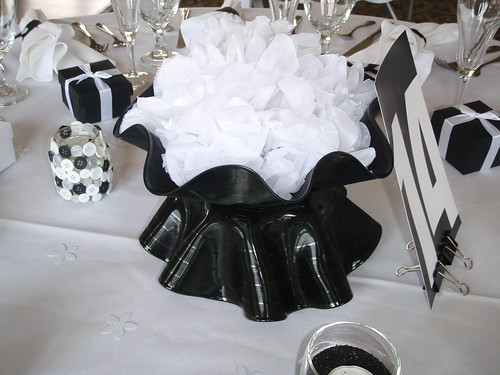 I then littered the tables at my wedding reception with these babies see
