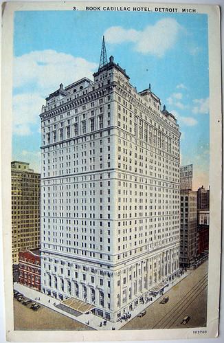 book cadillac hotel Detroit