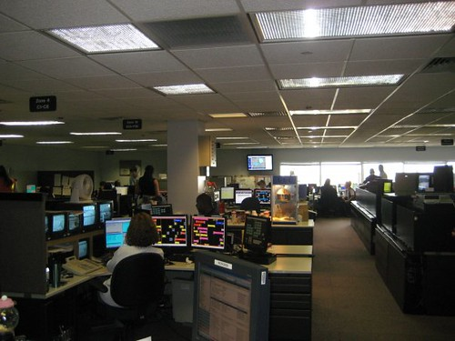 United Airlines O'Hare dispatch center