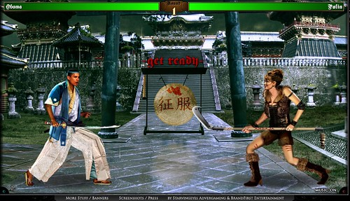 Kung-Fu election Obama vs Sarah Palin