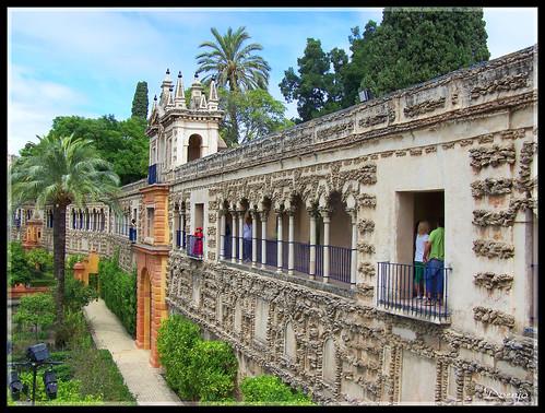 Reales Alcázares (Galería del Grutesco)