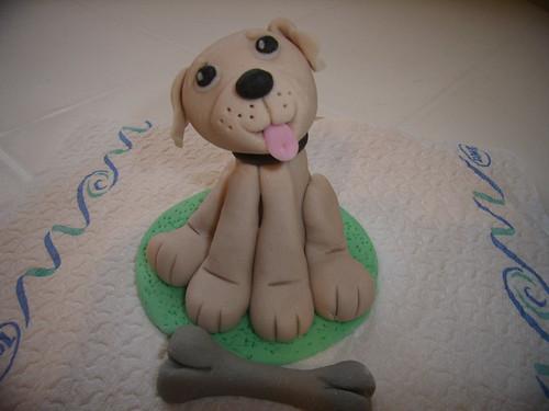 Puppy-sugarpaste