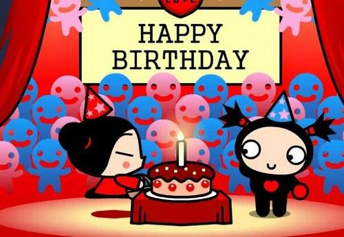 pucca happy birfday
