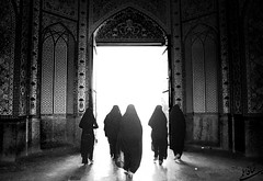 ... ...    (Recovering Sick Soul) Tags: door light blackandwhite bw white black heaven oldstyle veil darkness iran islam hijab mosque sin shiraz iranian conceptual  lightness  nima   conecpt fatemi  shahcheragh    shahecheragh    nimafatemi       siahsefid siahosepid upcoming:event=1070966 adoortolight