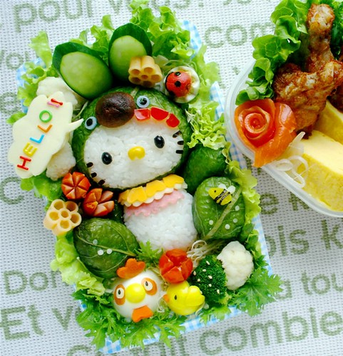 I love Hello Kitty sushi