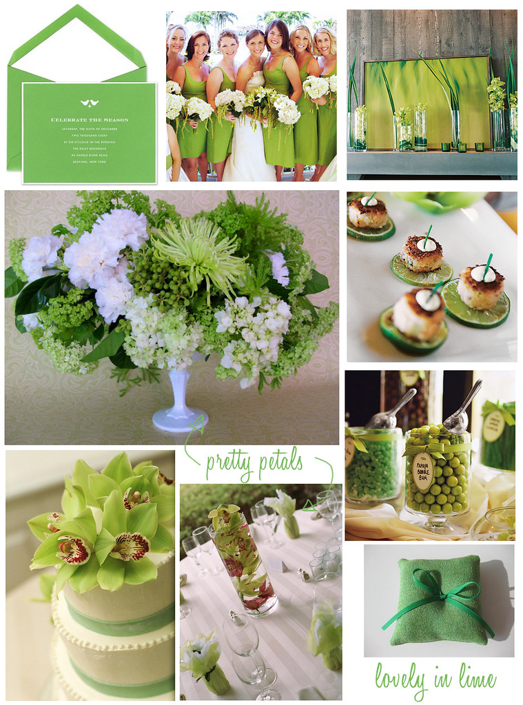 Wedding Wednesday: Lovely in Lime