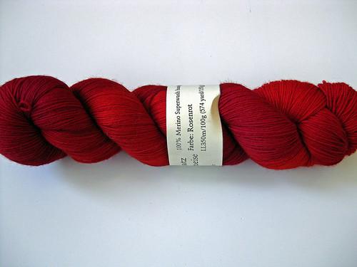 Wollmeise- Rosenrot