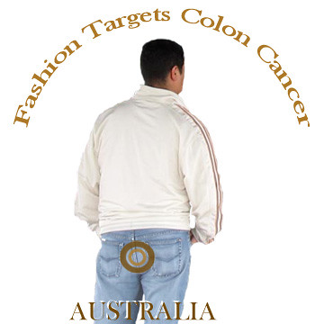 Fashion Targets Colon Cancer - brown butt-target
