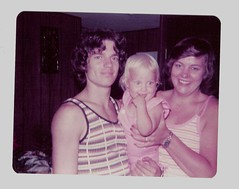 dad, mom, and me