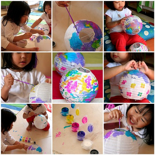 [Crafting with Kids] Lantern