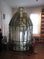 NJ Lighthouse Challenge '08 Barnegat 1st order fresnel lens