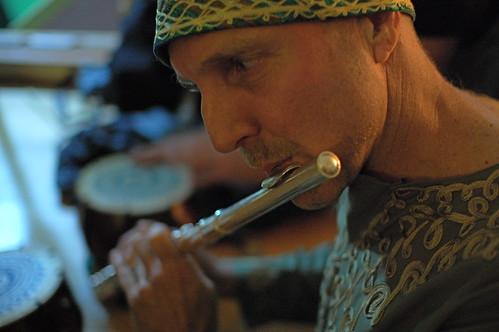 Rand on Flute