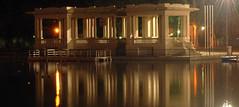 El embarcadero de noche......... (chasquito el roncoso) Tags: madrid water night lights noche agua flickr estrellas willy reflejos estanquedelretiro anawesomeshot elembarcaderodenoche llus