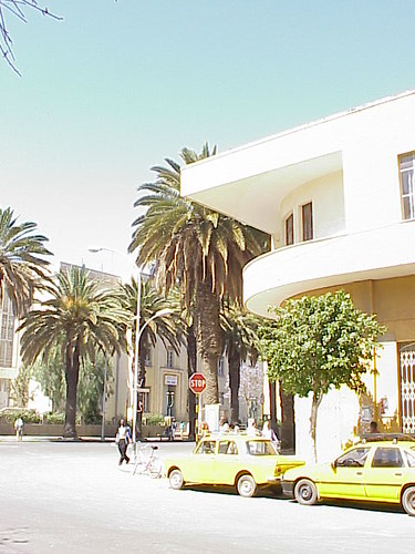 Apartments and Wikianos Supermarket, Asmara